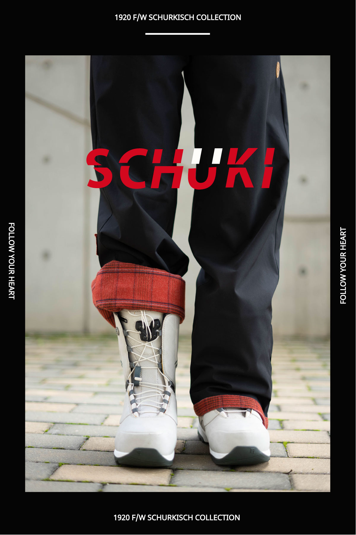 SCHUK Checked Lining Pants