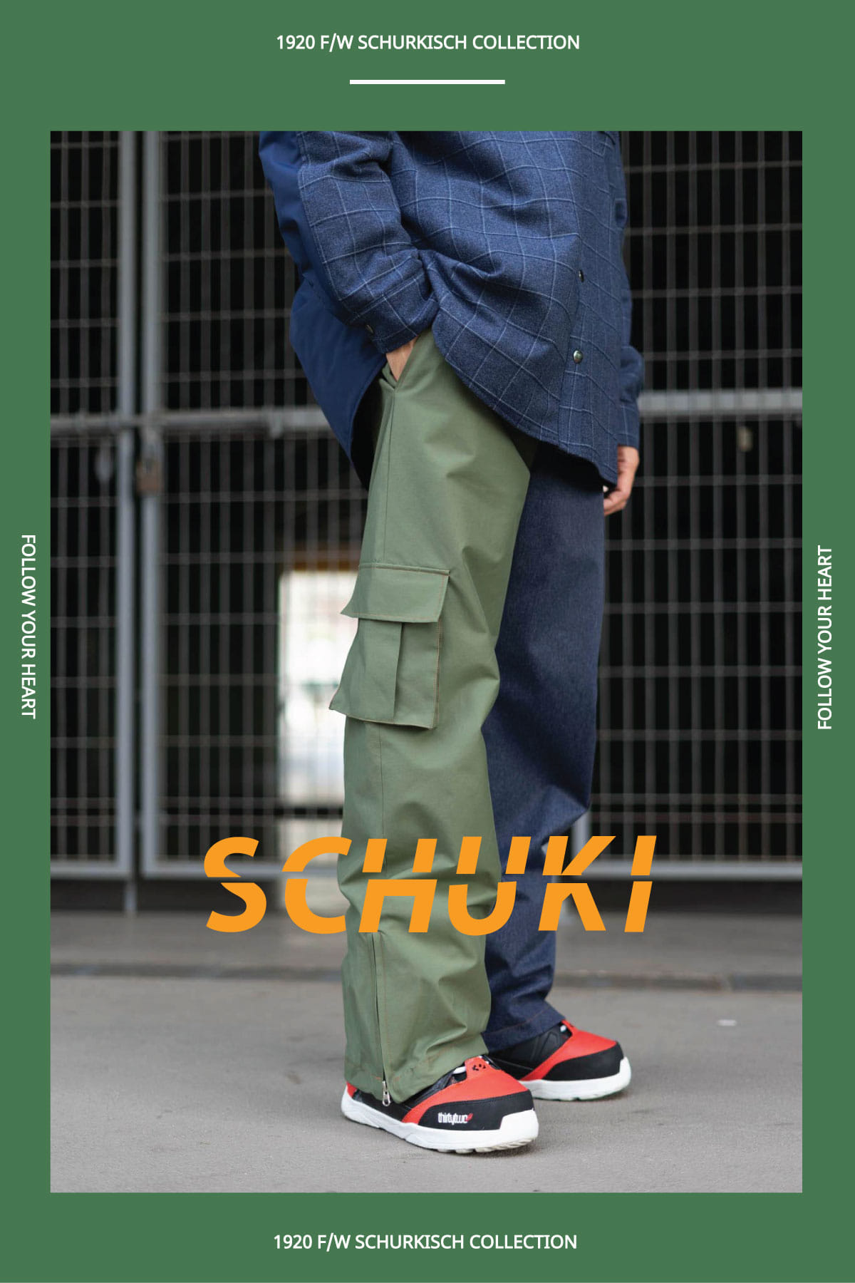 SCHUK Two-way Pants